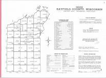 Index Map, Bayfield County 1974